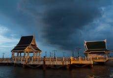 Mała połowu portu morza zaciszność fotografia stock