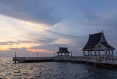 Mała połowu portu morza zaciszność fotografia royalty free