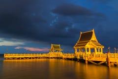 Mała połowu portu morza zaciszność obraz royalty free