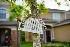 Mała Ptasia ławka Zdjęcie Royalty Free