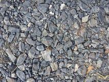Mała rockowa podłoga, Mały Kamienny podłogowy tło Fotografia Stock