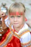 Mała rosyjska dziewczyna zdjęcie royalty free