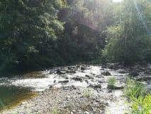 Mała rzeka Francja obraz royalty free