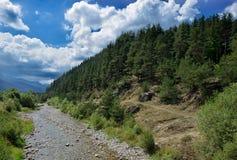 Mała rzeka w Govedartsy wiosce, Bułgaria Obraz Royalty Free