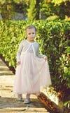 mała słodka dziewczyna ilustracyjny wektora Obrazy Stock