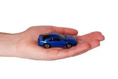 mała samochodowa ręka fotografia stock