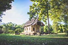 Mała stara świątynia zdjęcie stock
