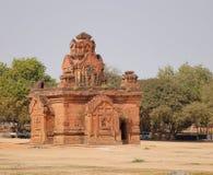 Mała stupa przy Htilominlo świątynią w Bagan, Myanmar Obrazy Stock