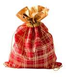 mała torby czerwień Zdjęcia Stock