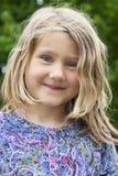 Mała urocza dziewczyna Obrazy Royalty Free
