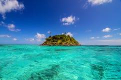 Mała Ustronna wyspa zdjęcie stock