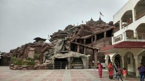 Mała Veshnodevi świątynia tutaj w Ahmedabad obraz royalty free