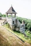 Mała wieżyczka w Trencin kasztelu, Sistani, podróży miejsce przeznaczenia Fotografia Stock