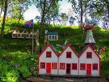 Mała wioska dla błyszczek Zdjęcie Stock
