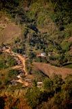 Mała wioski wieś fotografia royalty free