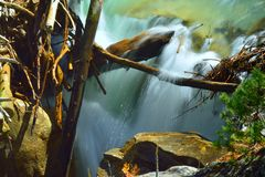 mała wodospadu Obraz Royalty Free