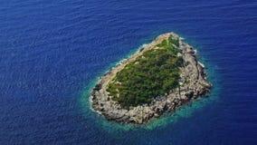 Mała wyspa, antena strzał zdjęcie wideo