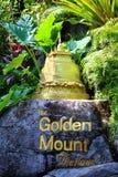 Mała złota góra Obraz Stock