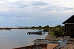 małe łodzie Zdjęcia Royalty Free
