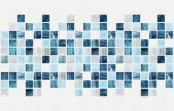 Małe barwione dekoracyjne płytki, mozaika Obraz Royalty Free