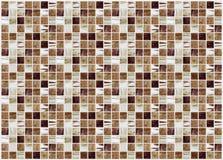 Małe barwione dekoracyjne płytki, mozaika Zdjęcia Stock