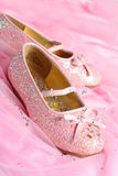 małe buty księżniczki Obrazy Stock