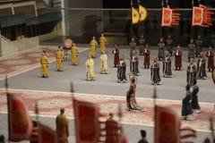 Małe Chińskie statuy Obraz Stock