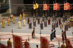 Małe Chińskie statuy Obrazy Stock
