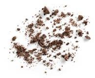 Małe czekolad kruszki zdjęcia royalty free