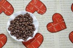 Małe czekolad piłki w talerzu Obraz Stock