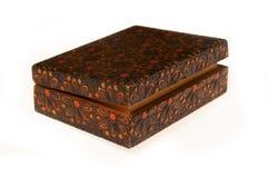 małe drewniane pudełko Obrazy Stock