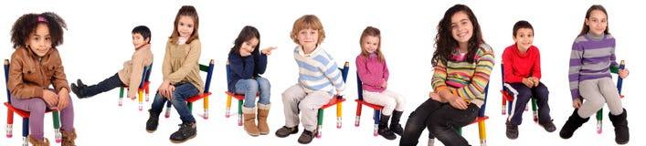 Małe dzieci Fotografia Royalty Free