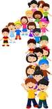 Małe dziecko forma liczba jeden ilustracja wektor
