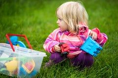 małe dziewczynki grać Obrazy Stock
