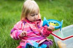 małe dziewczynki grać Fotografia Stock