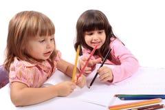 małe edukacyjne rozwój dziewczyny obrazy royalty free
