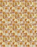 Małe marmuru kwadrata płytki z kolorów skutkami Fotografia Stock