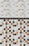 Małe marmuru kwadrata płytki z kolorów skutkami Zdjęcie Royalty Free