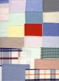 małe pobierających próbki tkanin Fotografia Royalty Free