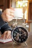 Małego kawałka Kawowa przerwa praca Zdjęcie Stock