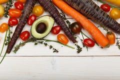 Małego Kolorowego Heirloom Czereśniowi pomidory Obrazy Stock
