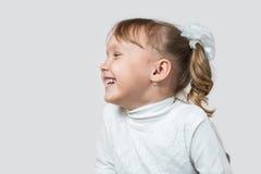 Małej dziewczynki śmiać się Zdjęcie Stock
