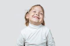 Małej dziewczynki śmiać się Obraz Stock