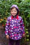 Małej dziewczynki ono uśmiecha się Zdjęcia Stock