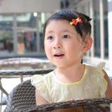 Małej dziewczynki zadziwiać Zdjęcia Royalty Free