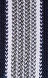 Małej i zwartej trykotowej tekstury dziewiarskie nici błękitni cienie Świetna dziewiarska tekstura obraz stock