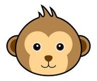 małpa śliczny wektor Zdjęcia Stock