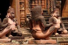 Małpi opiekuny obrazy royalty free