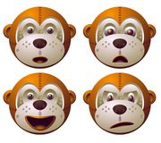 małpi robot royalty ilustracja