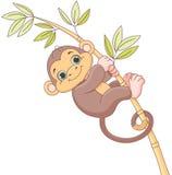 małpie dzieciątko royalty ilustracja